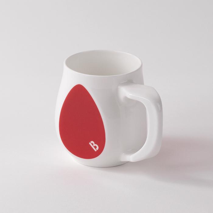 Buddy Mugs Fearless Red