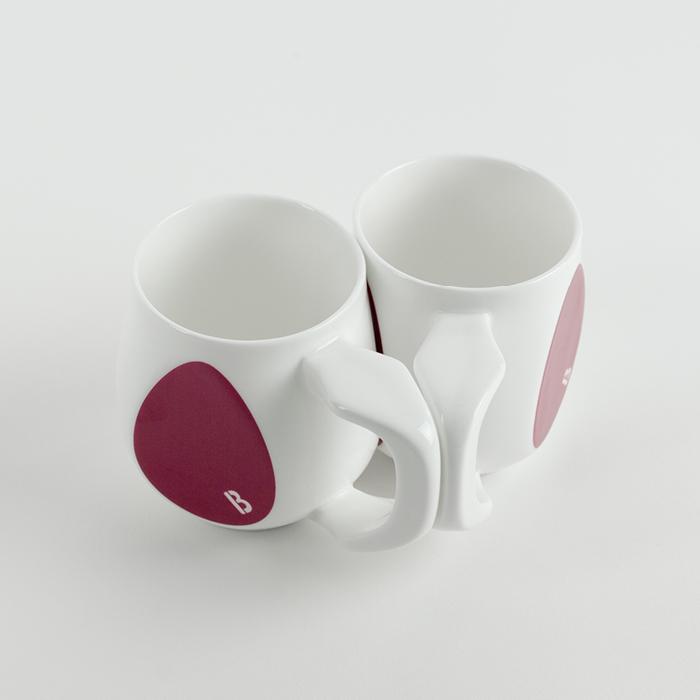 Buddy Mugs Curious Purple Mug