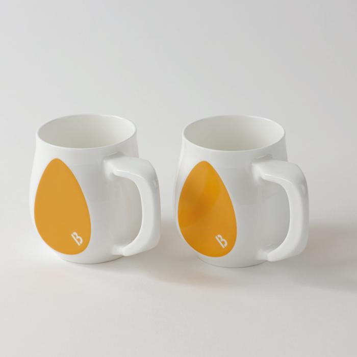 Buddy Mugs Joyful Yellow