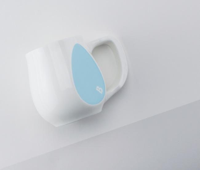 Light blue mugs | Heroic by Buddy Mugs