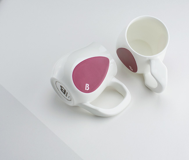 Purple mugs | Curious by Buddy Mugs