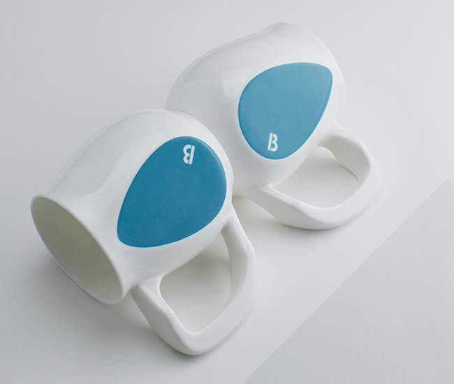 Turquoise mugs | Soulful by Buddy Mugs