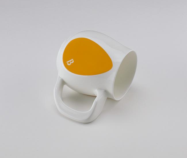 Yellow mugs | Joyful by Buddy Mugs