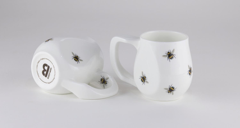 Ceramic Yellow Bees mugs