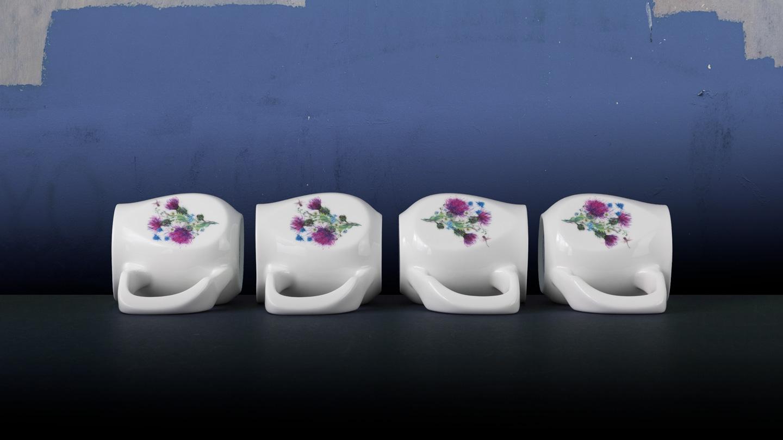 Ceramic dragonfly coffee mugs perfect as a novelty mug gift