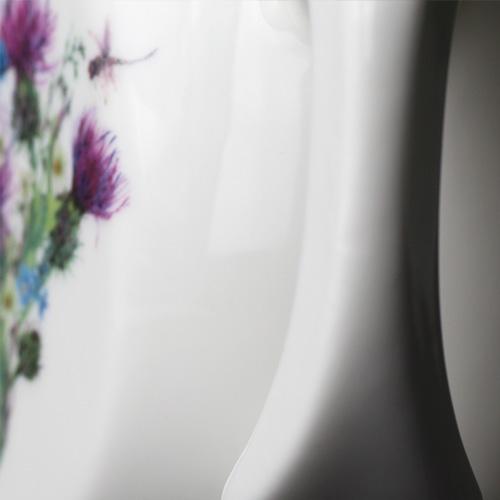 Tactile coffee mug handle designed for comfort