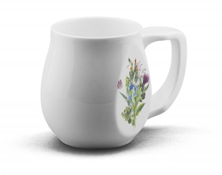 Butterfly mug made from fine bone china and mad in Britain.
