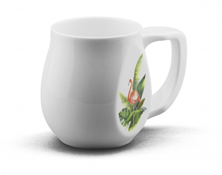 Ceramic Flamingo coffee mugs perfect as a novelty mug gift