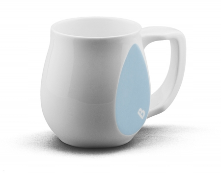 Ceramic light blue coffee mugs perfect as a novelty mug gift