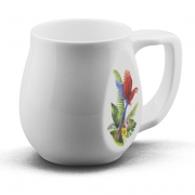 Ceramic Parrot coffee mugs perfect as a novelty mug or gift