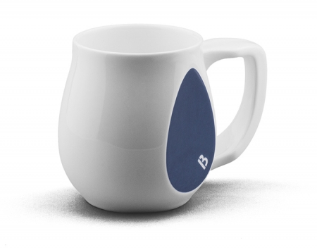 Ceramic Dark Blue coffee mugs perfect as a novelty mug gift