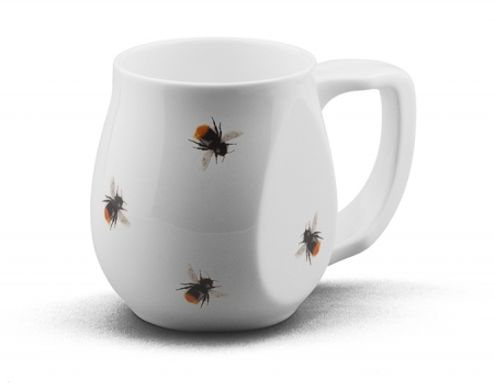 Red Bees mug made from fine bone china and mad in Britain.