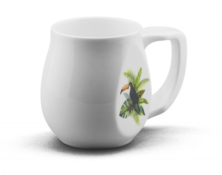 Toucan mug made from fine bone china and mad in Britain.
