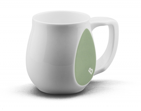 Youthful green mug