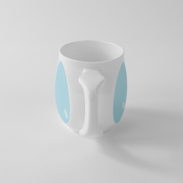 Buddy Mugs Heroic Blue Mug